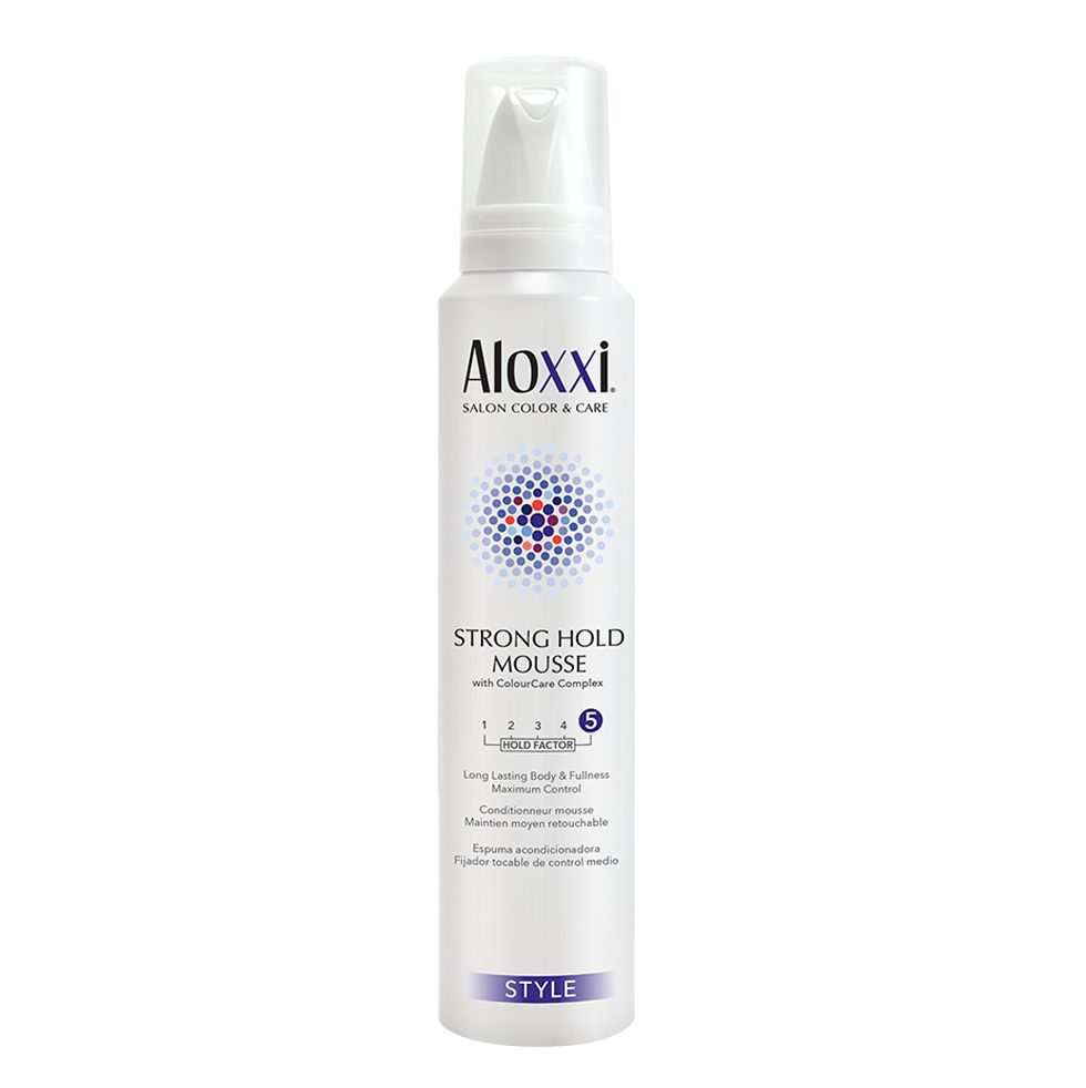 Afbeelding van Aloxxi Strong Hold Mousse 196ml