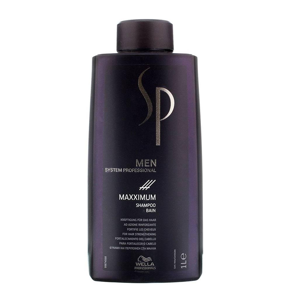 wella sp men maxximum shampoo haarspullen. Black Bedroom Furniture Sets. Home Design Ideas
