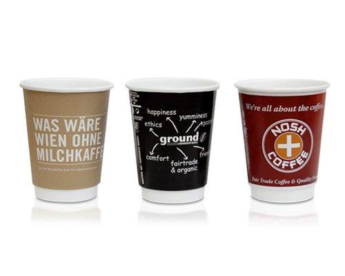 300 ml Koffiebekers bedrukken (Koffie Latte Formaat)