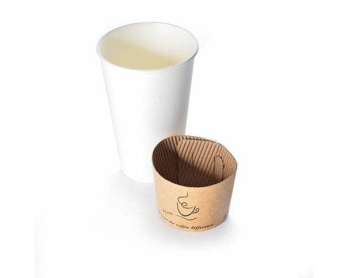 Koffiebekers.nl Beker wikkel voor koffiebekers