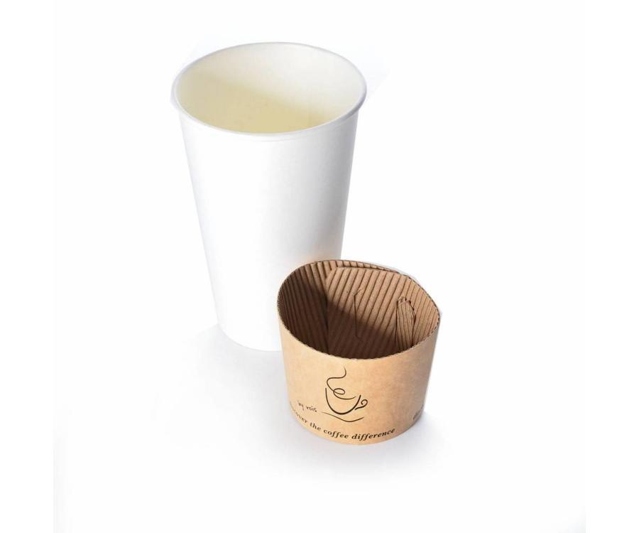 Beker wikkel voor koffiebekers bedrukken
