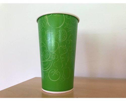 Koffiebekers.nl Milkshakebeker - 400 ml - Refresh yourself