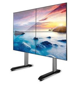 System X Video Wall, vloerstandaard voor Video-Wall 2x2 (46 tot 60 inch)