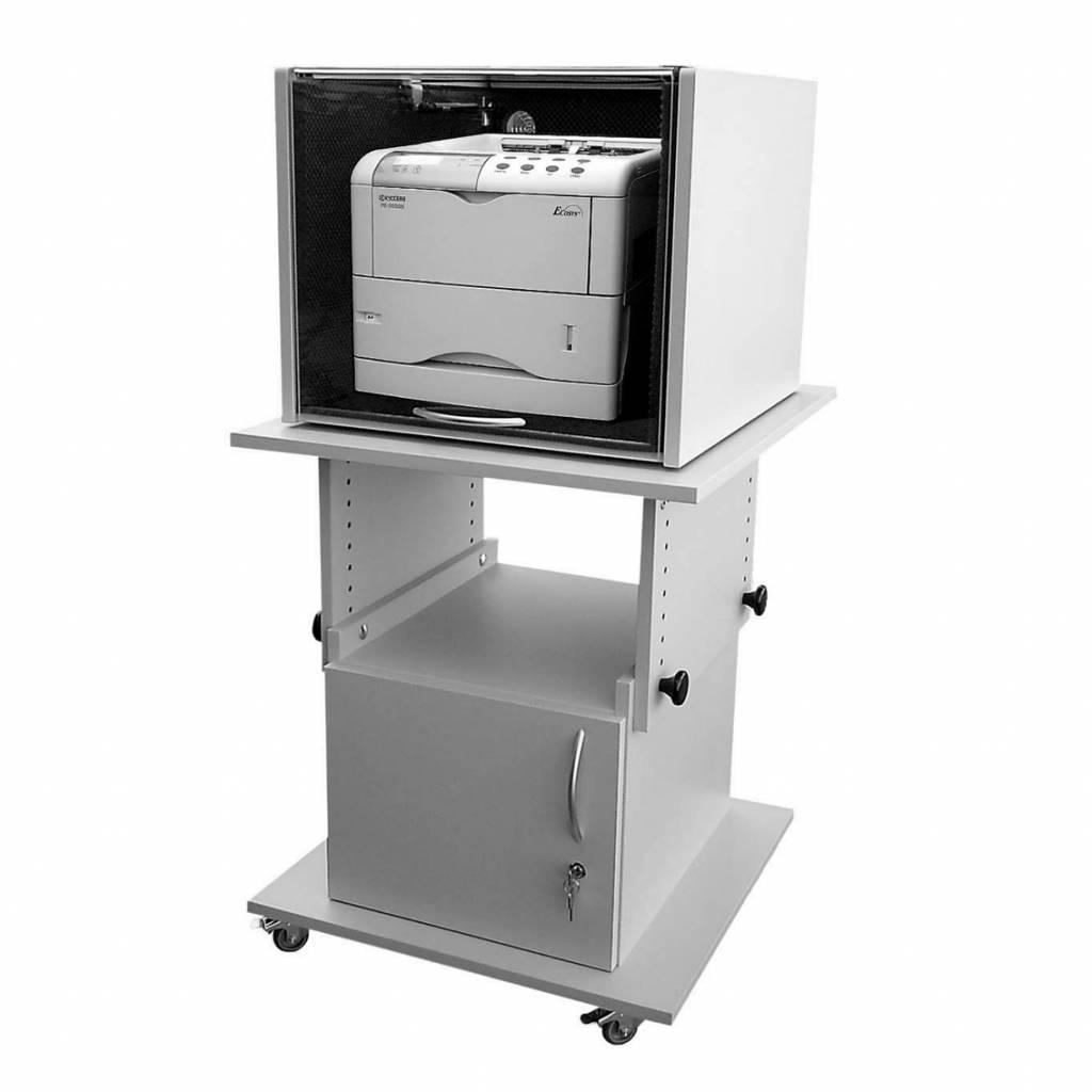 Geluiddempende kappen voor laserprinter