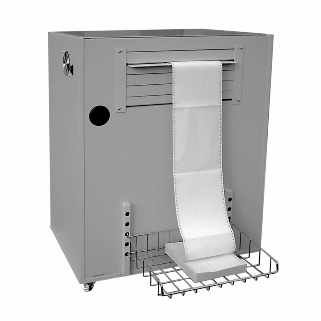 Geluiddempende printerkast voor high speed printers