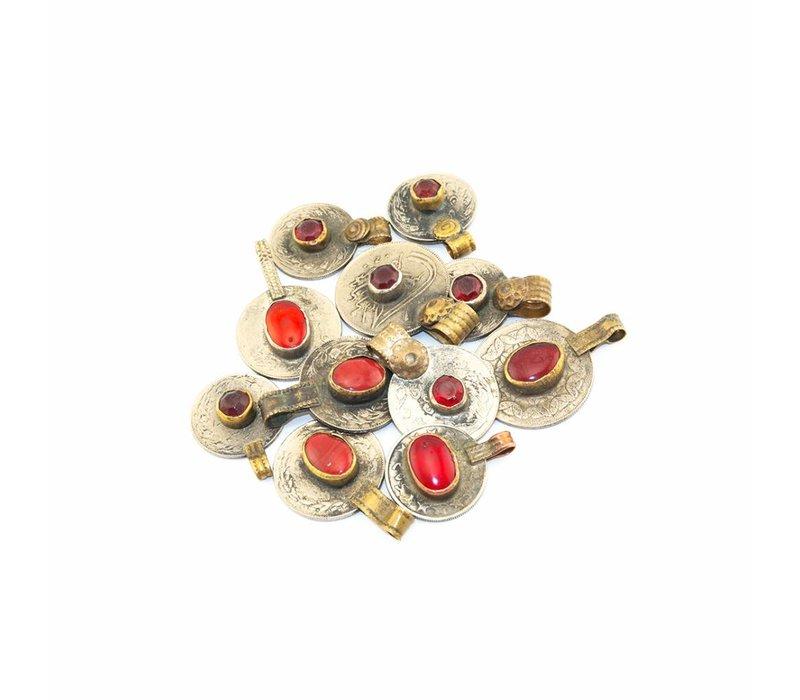 DWAM Gypsy necklace Red mix