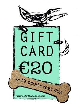 Geschenkkarte €20
