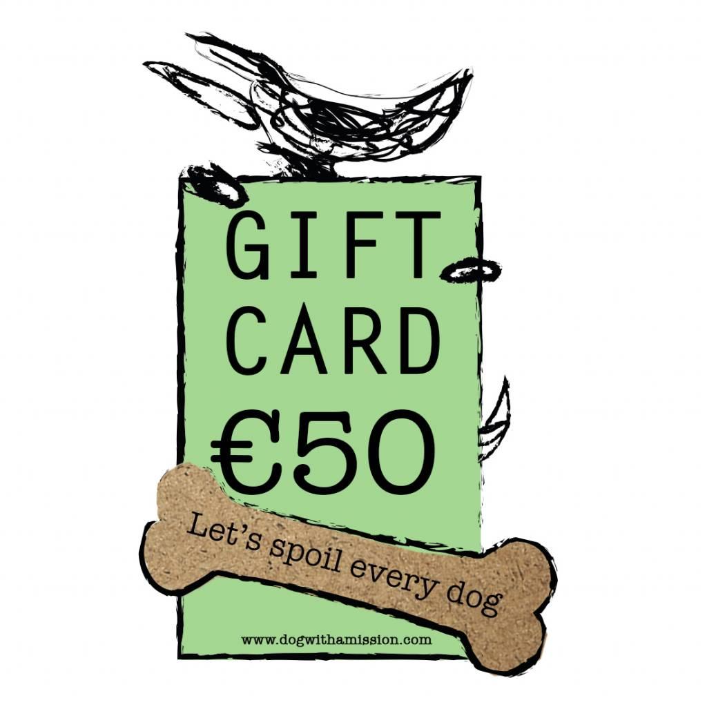 Geschenkkarte €50