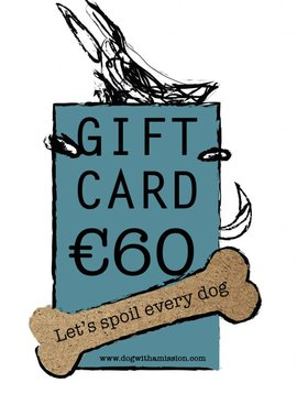 Giftcard €60