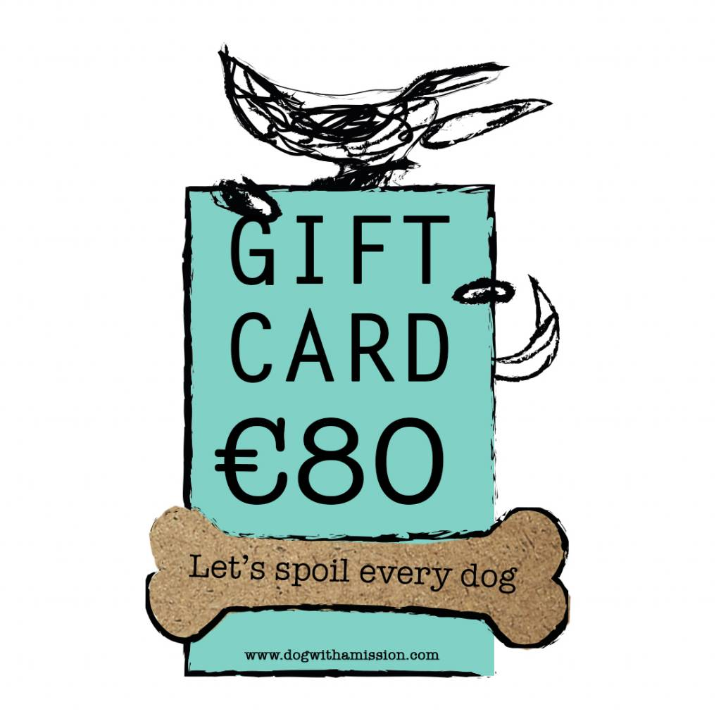 Geschenkkarte €80