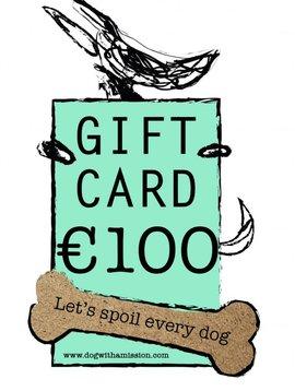 Geschenkkarte €100