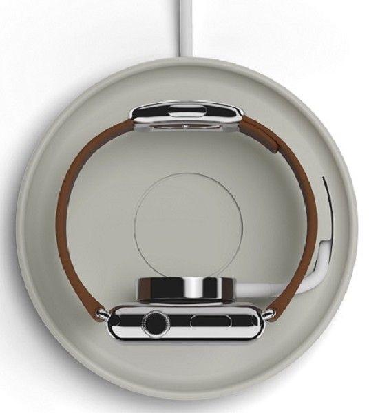 Bluelounge Kosta Apple Watch Oplader Grijs