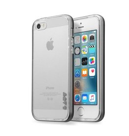 LAUT Exo-Frame iPhone 5/5S/SE Gun Metal