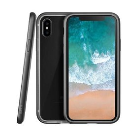 LAUT Exo Frame iPhone X Gun Metal