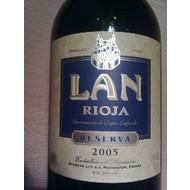 Rioja Reserva Bodegas LAN 2011