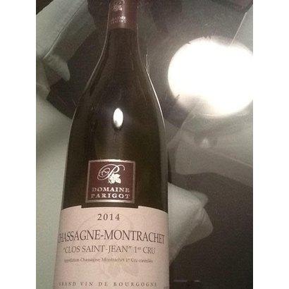 """Chassagne-Montrachet """"Clos St Jean"""" Parigot 2014"""