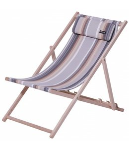 Madison Wood Beachchair Guatamala (Grey)