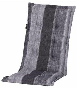 Madison Tuinstoelkussen hoog 50x123cm (Denim Stripe Grey)