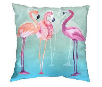 Sierkussen Flamingo 50x50cm