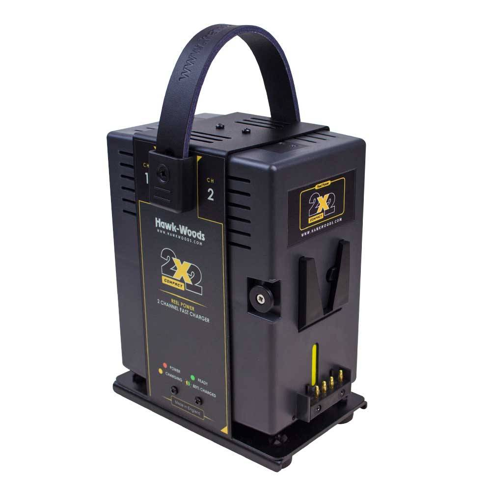 Hawk-Woods Hawk-Woods - RP-2x2 - 2-Channel Reel Power Fast Charger