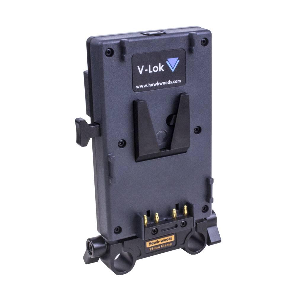 Hawk-Woods Hawk-Woods - V-Mount Adapter für Arri Alexa Mini / Amira - 15mm Adapter Rohrbefestigung