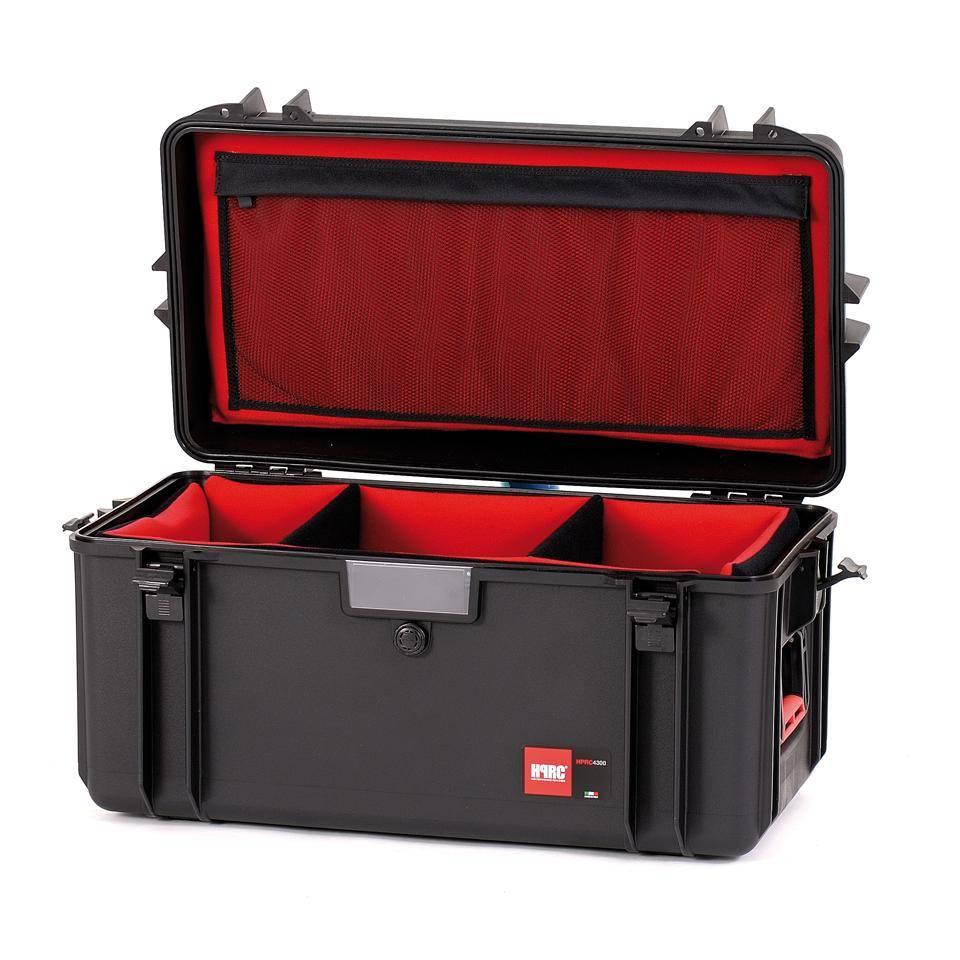 HPRC HPRC - 4300 Hartschalenkoffer mit Trennelementen
