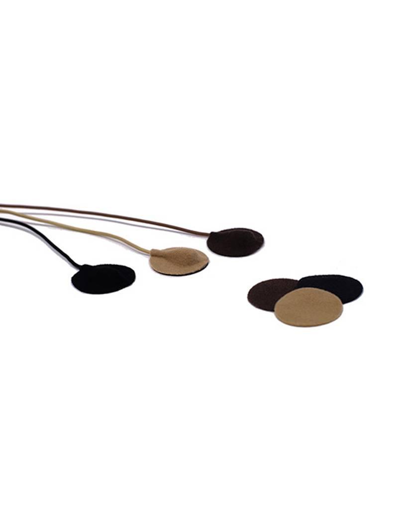 URSA URSA - Soft Circles Cover für Lavalier-Mikrofone - Multi Pack (15 Stück)