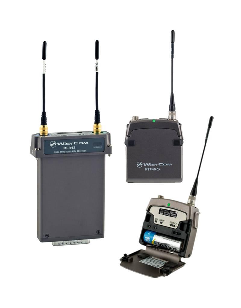 Wisycom Wisycom - Special Offer - 2-Kanal True-Diversity Funksystem