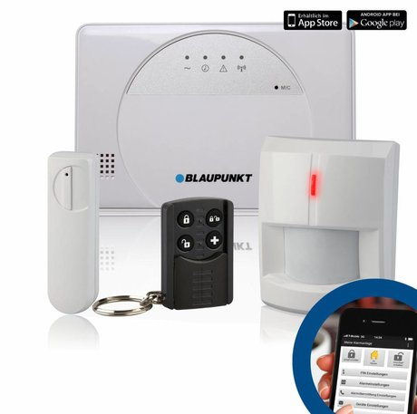 Blaupunkt Blaupunkt SA 2500 Smart GSM Draadloos Alarm Systeem