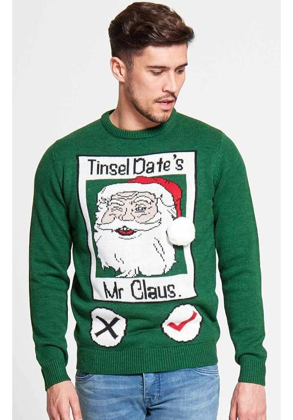 Kersttrui Tinsel Date