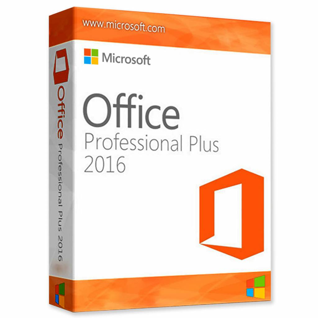 Microsoft Office 2016 Vaste Versie (Plus)