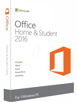 Microsoft Office 2016 Home & Student - Alle Talen