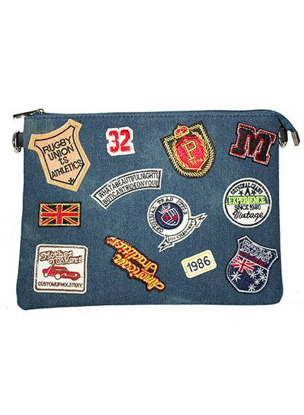 DENIM BAG PATCHES