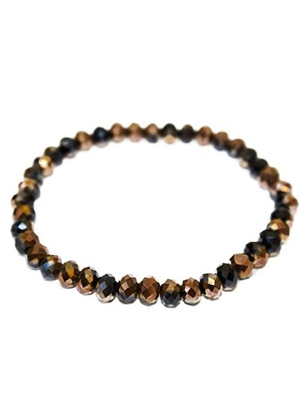 BRACELET BROWN-BLACK