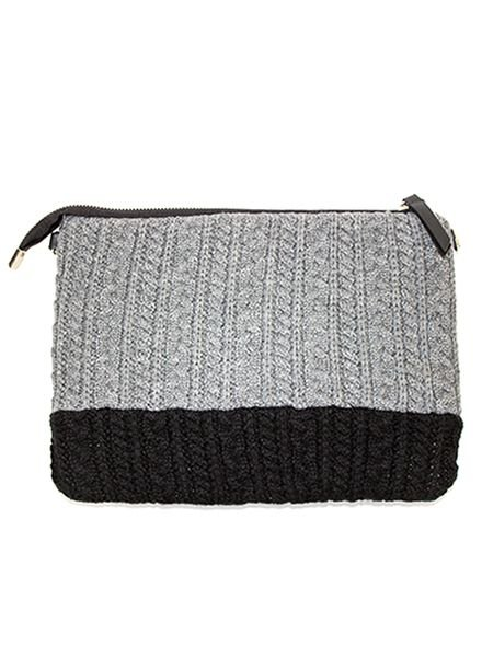 FAUX WOOL BAG