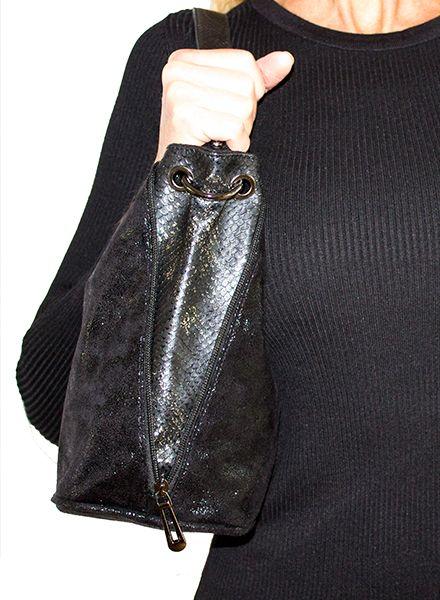 SOFT SHINE BAG BLACK