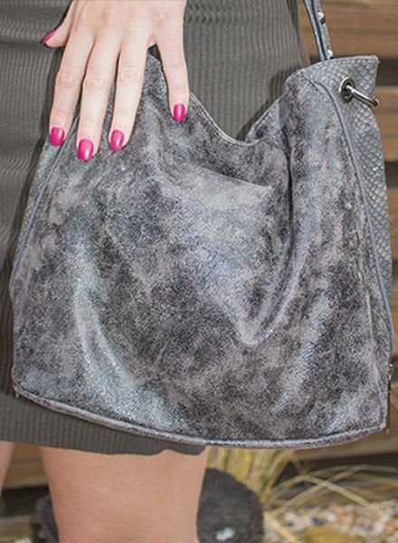 SOFT SHINE BAG TAUPE