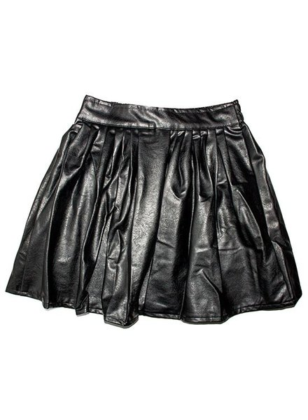 FAUX LEATHER ROK