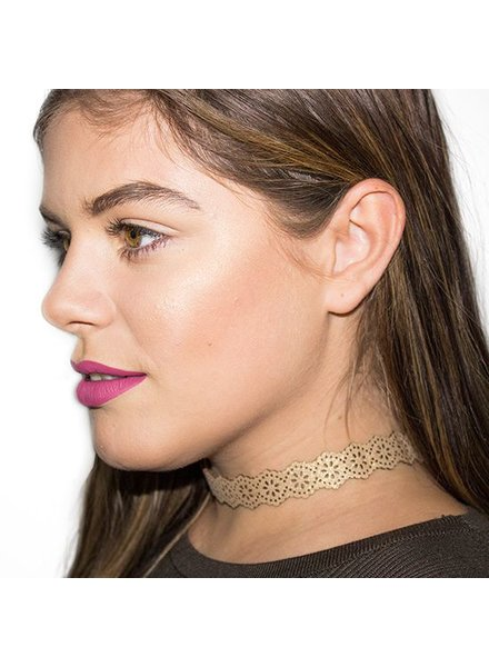 CHRISTMAS CHOKER GOLD