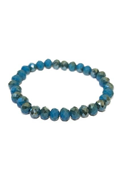 BRACELET BLUE SHINY