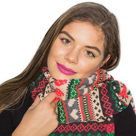STRAWBERRIES SCARF