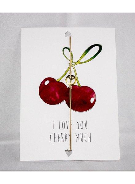 CARD CHERRY MUCH