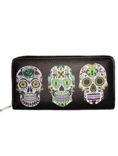 THREE SKULLS WALLET