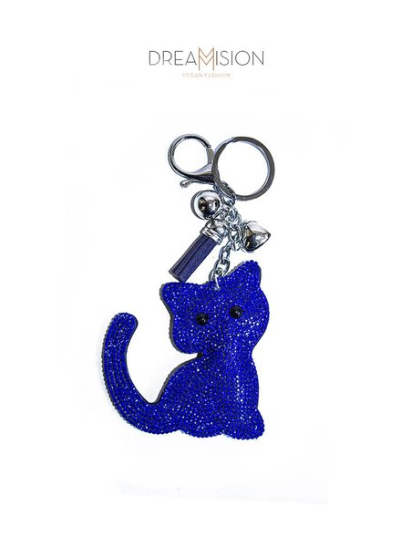 BLUE GLITTER KITTY