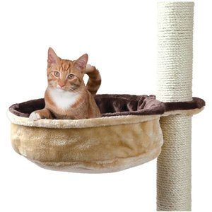trixie hammock for cat tree brown beige order your cat hammock at the best price out there    petsgifts  rh   petsgifts co uk