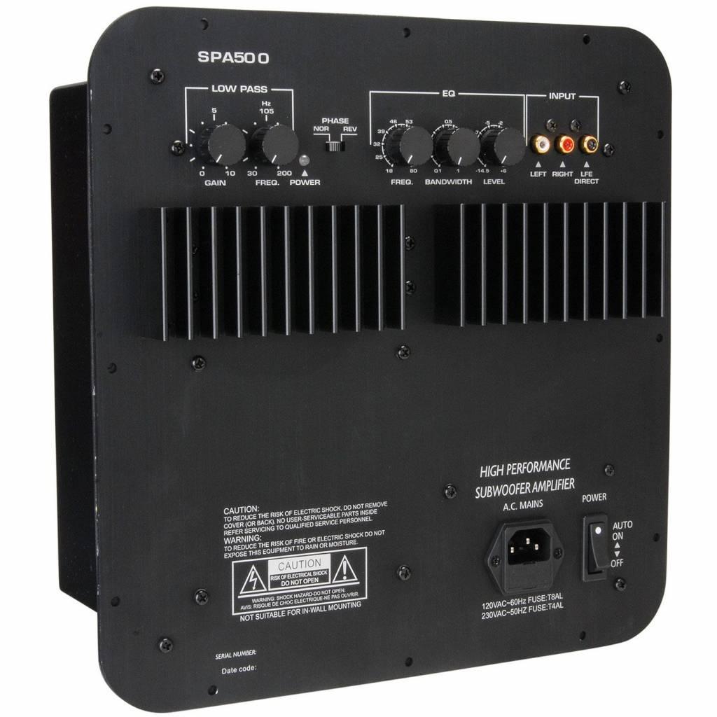 Dayton Audio Spa500 500w Subwoofer Plate Amplifier Soundimports 500watt Power Circuit Schematic Diagram