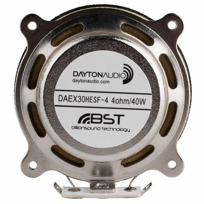 Dayton Audio DAEX30HESF-4 High Efficiency Steered Flux Exciter with Shielding 30 mm Exciter 40W 4 Ohm