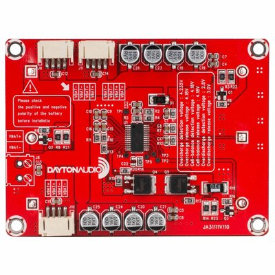 Dayton Audio KAB-BE 18650 Battery Extension Board for Bluetooth Amplifier Boards
