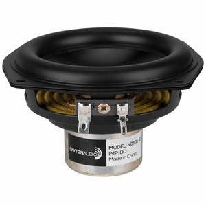 "Dayton Audio ND105-8 4"" Aluminum Cone Midbass Driver"
