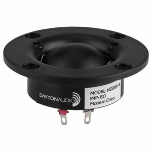 Dayton Audio ND28F-6 1-1/8'' Neodymium Dome Tweeter